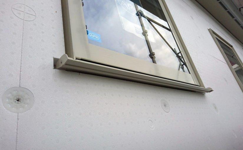 外壁の汚れを防ぐために①